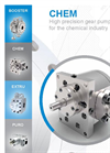 CHEM - High Precision Gear Pump For Conveying Low To Medium Viscosity Fluids Brochure