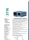 Eurotherm - Model 3116 - Temperature/Process Controller - Brochure
