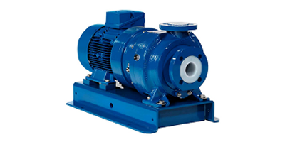 Model MSKP  - Solid PTFE Magnetic Drive Chemical Process Pump