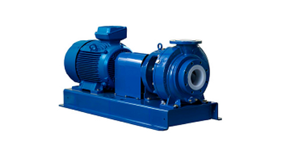 PFA Lined Double Mechanical Seal Chemical Process Pump