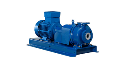 Model ET  - Ceramic Lined Double Mechanical Seal Chemical Process Pump