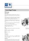 CN Series - Single Stage Centrifugal Pump Brochure