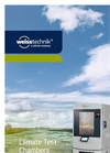 ClimeEvent - Climate Test Chambers Brochure