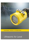 VEGASON - Model 61 - Ultrasonic Level Sensors Brochure
