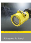 Ultrasonic - VEGASON 63- Brochure