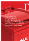 Model MGB 80 - 2 Wheeled Bin Systems Brochure