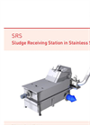 Meva - Model SRS - External Sludge Receiving Station in Stainless Steel - Datasheet