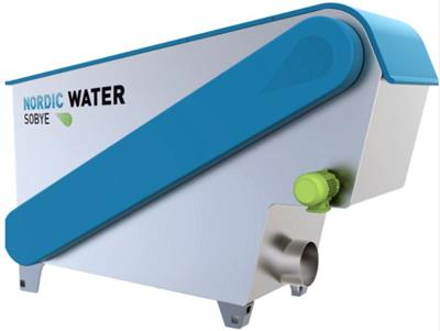 Nordic Water Sobye - Model TD - Automatic, Self-Cleaning Belt Filter