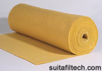 Polyimide (P84) Needle Felt for Dust Collector Systems