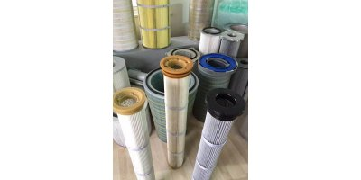 Pleated Filter Cartridges for Pulse Jet Dust Collectors