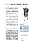 GLF-series - Gas and Air Filtration Brochure