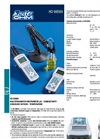Delta Ohm - HD 98569  - Electrochemistry Multifunction pH, ORP, Dissolved Oxigen, Temperature, Conductivity