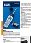 Delta Ohm - HD2010UC - integrating portable sound level meter