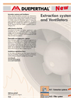 Extraction Systems and Ventilators Catalogue