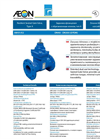Aeon - Model Type A DN40 – DN300 - Resilient Seated Gate Valve - Datasheet