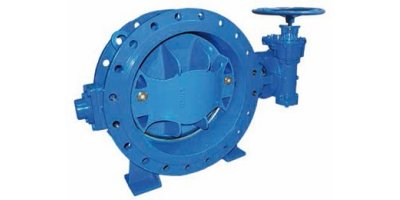 Model DN200 – DN3000 (EPDM) - Flanged Eccentric Butterfly Valve