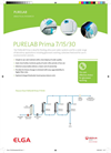 PURELAB - Prima 7-15-30 - Type III Water For Primary Grade Applications – Specifications