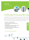 PURELAB - Prima 60-120 - Type III Water For Primary Grade Applications – Specifications