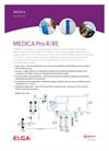 MEDICA Pro Single High Flow Purification System Specifications Sheet