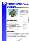 Plastic Process Pumps Brochure