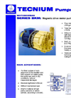 Magnetic Drive Pumps Brochure