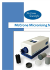 McCrone Micronising Mill- Brochure