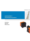 DUSTHUNTER - Model T50 - Transmittance Dust Measuring Devices Brochure