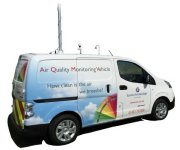 Innovative NEW Air Quality Monitoring Vehicle from Enviro Technology