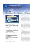 TAPI - Model 320E IR - Gas Filter Correlation N2O Analyzer (Medium Level) Brochure