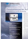 TAPI - Model 201 E - Chemiluminescent NH3 Analyzer For Ambient Air Quality Monitoring Brochure