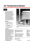 ET - Model 592 - Air Temperature Sensor Brochure