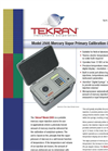 Tekran - Model 2505 - Mercury Vapor Primary Calibration Unit Brochure