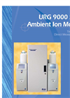 URG 9000 Series - Ambient Ion Monitor Brochure