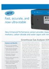 Greenhouse Gas Analyser CH4, CO2, H2O Brochure