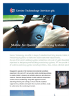 ET Walk-In - PR10 AQM - Mobile Air Quality Monitoring Systems Brochure