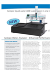 Los Gatos Research (LGR) – Isotopic Water Analyser – Enhanced Performance Brochure