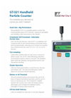 GT-321 - Handheld Portable Particle Counter Brochure