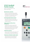 GT-521 - Handheld Portable Laser Particle Counter Brochure