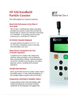 GT-526 - Handheld Portable Laser Particle Counter Brochure