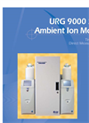 URG - 9000 Series - Ambient Ion Monitor Datasheet