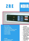 ZRE - NDIR - O2 Analyser for Single Infrared Light Beam Datasheet
