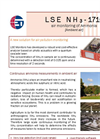 LSE - NH3 - 1710 - Air Pollution Monitoring of Ammonia Analyser Datasheet