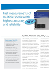 LGR - - H2S / NH3 Trace Gas Analysers Datasheet
