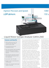 LGR - LWIA-24d - Liquid Water Isotope Analyser Datasheet