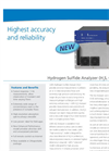 LGR - Hydrogen Sulfide (H2S) Trace Gas Analysers Datasheet