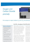LGR - Oxygen / Carbon Dioxide (O2/CO2) Trace Gas Analyser Datasheet