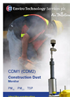 ET - CDM1 (CDM2) - Construction Dust Monitor Datasheet