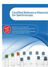 Starna Certified Reference Materials Catalogue