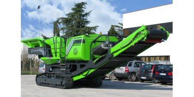 GREEN SHARK - Model FPR 1006 - Mobile Crusher