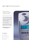 Model MD 100 - Photometer- Brochure